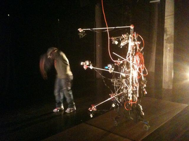 Capture Rig for New Video Installation Series 2010 - keep dancing -